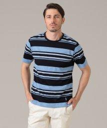 MACKINTOSH LONDON/先染めパネルボーダーTシャツ/503178375