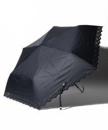 Afternoon Tea LIVING/パンチングフラワーレース晴雨兼用折りたたみ傘 日傘/503083384