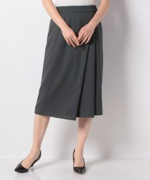 Leilian/アシンメトリータイトスカート/503121069