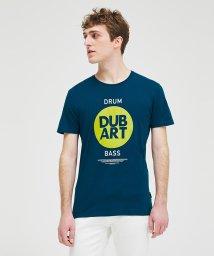 SISLEY/コットン型押し半袖Tシャツ・カットソー/503135445