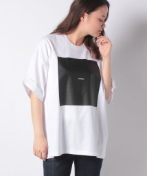 FRAPBOIS/スクエアプリントTシャツ/503170805
