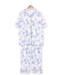 fran de lingerie/bumpy半袖パジャマシャツセットアップ/503171033