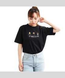1111clothing/tシャツ 半袖 メンズ tシャツ レディース 半袖 半袖tシャツ usaコットン tシャツ 刺繍 ロゴ トップス カットソー クルーネック uネック ペアルック/503180549