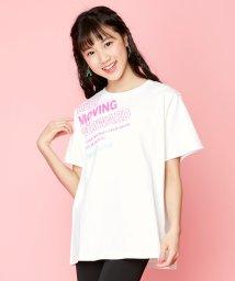 JENNI love/防蚊斜めロゴBIGTシャツ/503181122