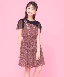 JENNI love/ワンショル花柄ワンピ/503181123