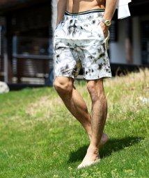JIGGYS SHOP/マルチパターンスイムショートパンツ / 水着 メンズ ショーツ 海パン ボードパンツ ハーフパンツ サコッシュ付き サーフパンツ/503181197