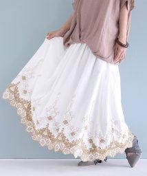 osharewalker/『somariスカラップレース刺繍ギャザースカート』/503181239