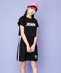 SISTER JENNI/短丈ロゴ半袖T+ノースリワンピセット/503181282