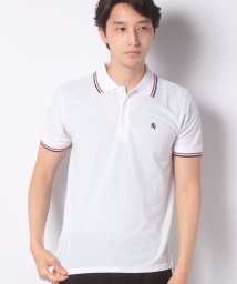 STYLEBLOCK/刺繍ライン入りドライ半袖ポロシャツ/502302585