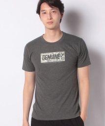 STYLEBLOCK/ボックスロゴプリントクルーネック半袖Tシャツ/503071548