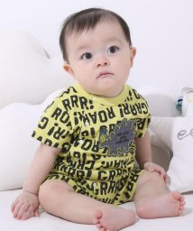 e-baby/スラブ天竺恐竜ロンパース/503089316
