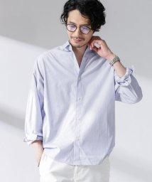 nano・universe/大人のワイドシャツ シャンブレーレギュラー/503095720