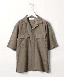 green label relaxing/SC ドライ タッサー BDU 半袖 シャツ/503153330