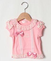 ShirleyTemple/シフォン使いTシャツ(90cm)/503168020