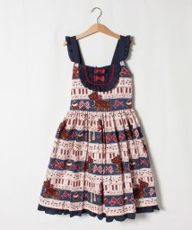 ShirleyTemple/メロディレッスンプリントジャンパースカート(150~160cm)/503168116