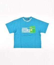 ZIDDY/ロゴ クリアポケット カラー Tシャツ(130cm~160cm)/503169689