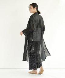 LASUD/[RADIATE] 【手洗い可】シアーサイドスリットガウン/503181049