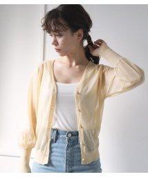 Avan Lily/ラメニットカーデ/503182964