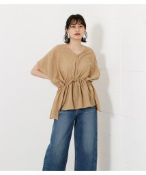 AZUL by moussy/FRONT PEPLUM BLOUSE/503182976