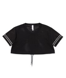 NERGY/【alo】FRONTLINE クロップドTシャツ/503183421