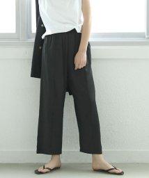coca/つや感とろみワイドパンツ/503175124