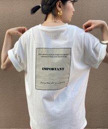 ViS/【WEB限定】ロゴビッグTシャツ/503183074