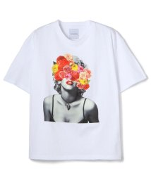 LHP/La vie estbelle/ラ・ヴィエベル/フラワーフォトTシャツ/FlowerPhoto T-Shirts/Lavieestbelle/ラヴィエベル/503183586