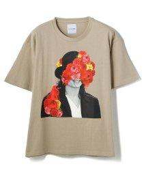 LHP/La vie estbelle/ラ・ヴィエベル/フラワーフォトTシャツ/FlowerPhoto T-Shirts/Lavieestbelle/ラヴィエベル/503183589