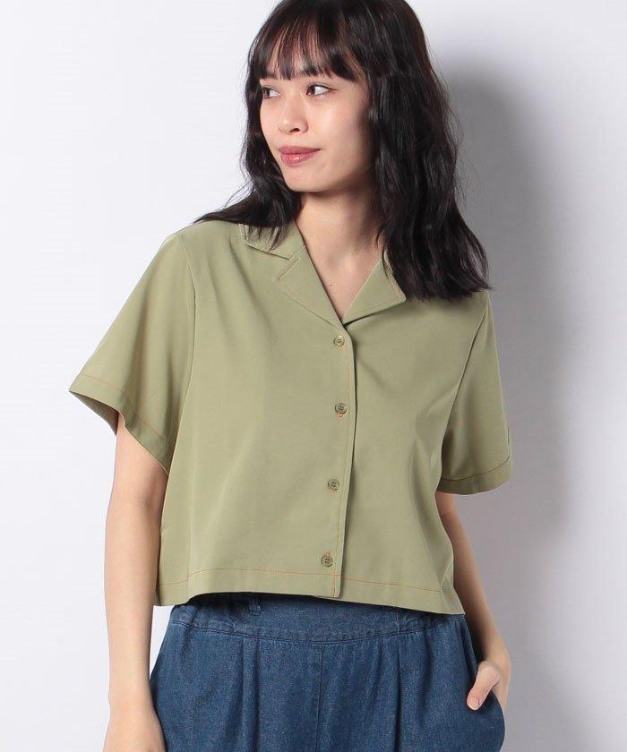 インナー 開襟 シャツ 1枚でおしゃれになれる開襟シャツは夏のトップスにぴったりすぎる