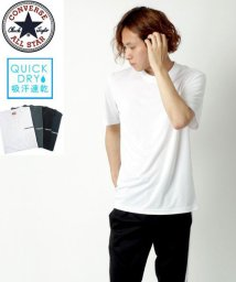 MARUKAWA/【CONVERSE】コンバース 吸汗速乾 ドライ & クール ワンポイント 半袖 Tシャツ/503146405