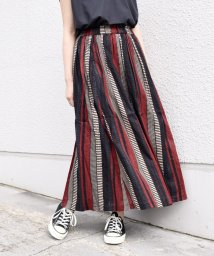 SHIPS WOMEN/《一部追加予約》【別注】UHURU ストライプスカート◆/503184093