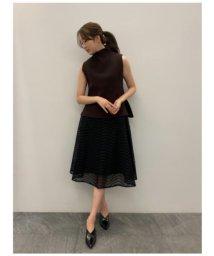 CELFORD/刺繍フレアスカート/503184265