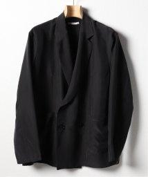EDIFICE/moncao / モンサオ ウォッシャブルシルクダブルシャツジャケット/503184300