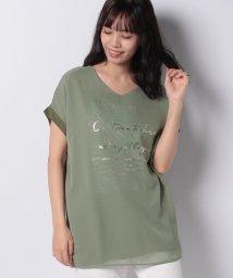INTERPLANET/ボタニカル3D Tシャツ/503128182