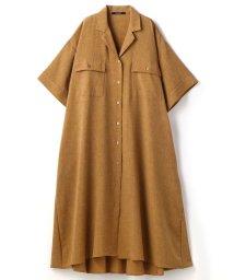 Grand PARK/フレアーAラインロングシャツ/503129053
