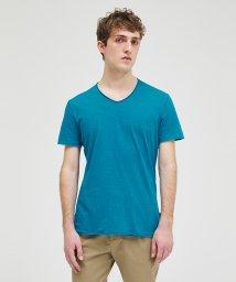 SISLEY/コットンカットフリーV半袖Tシャツ・カットソー/503135446