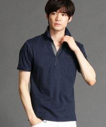 NICOLE CLUB FOR MEN/スキッパ-ポロシャツ/503166265