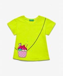 BENETTON (UNITED COLORS OF BENETTON GIRLS)/ポケット付きトロンプルイユTシャツ・カットソー/503173979