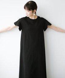 haco!/1枚で完璧シルエット!ひらりと揺れる袖がかわいい楽ちんカットソーワンピース/503168280