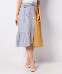 Dear Princess/【セットアップ対応商品】配色スカート/503179821