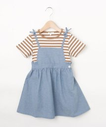 3can4on(Kids)/【90-140cm】レイヤードワンピース/503185693