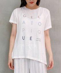 gelato pique/デオドラントロゴTシャツ/503185764