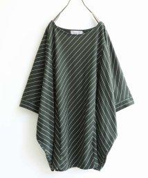 osharewalker/『nOr斜めストライプドルマンTシャツ』/503185772