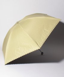 "MACKINTOSH PHILOSOPHY(umbrella)/MACKINTOSH PHILOSOPHY 晴雨兼用折りたたみ傘 ""ストライプ 刺繍""/502931772"
