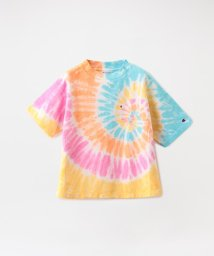 LOVELESS WOMEN/【Champion】WOMEN REVERSE WEAVE TIE-DYE T-SHIRT CW-R307/503054324