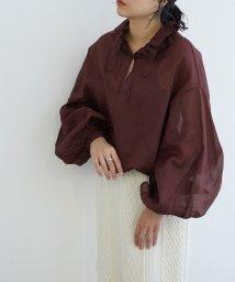 ROPE' mademoiselle/【near.nippon】シアーアノラックブラウス/503129343