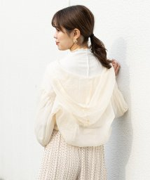 NICE CLAUP OUTLET/フード付シアーブラウス/503146101