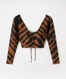 LOVELESS WOMEN/【muller of yoshiokubo】WOMEN Zebra rush guard MLS20911/503170274