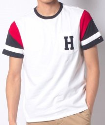 TOMMY HILFIGER/JS M CECIL TEE WHITE/MULTI/503173563