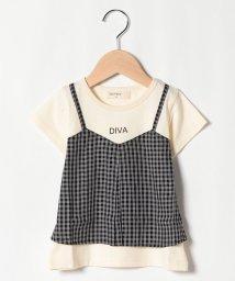 Sot Fairy/キャミ付きTシャツ/503177441